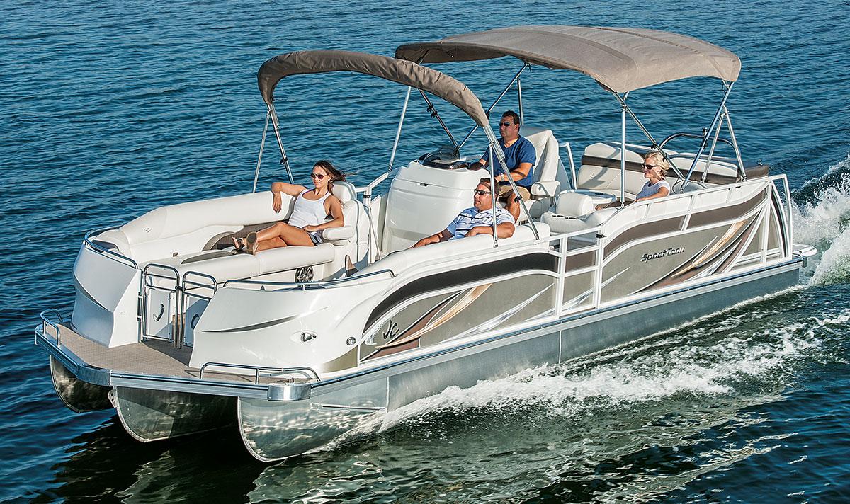 2017 Tritoon Classic Pontoon Boats Jc Tritoon Marine