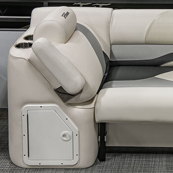 Lounger Arm with Storage