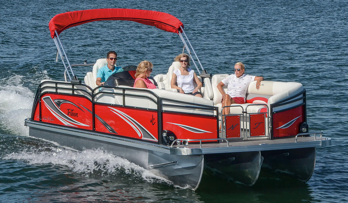 2017 NepToon Pontoon Boats