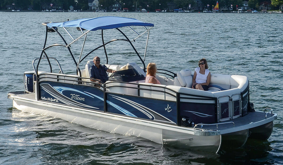 2018 SunLounger Pontoon Boats