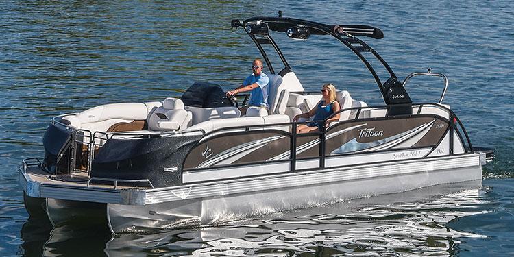 Jc Tritoon Marine Pontoon Boats