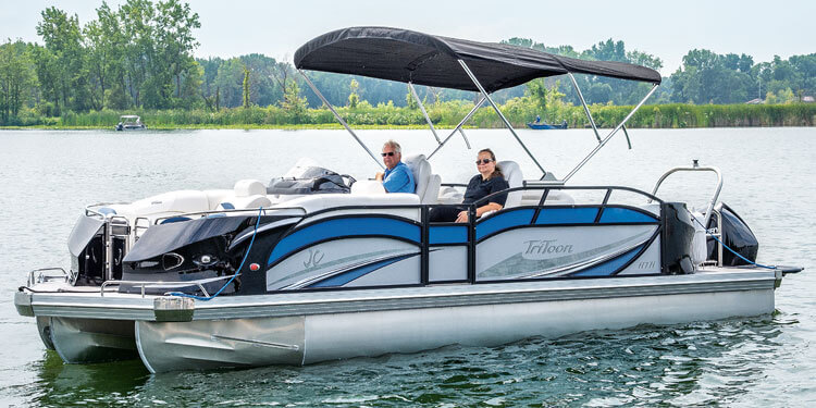 SportToon Pontoon Boats