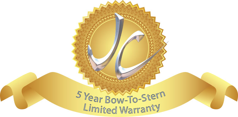 JC 5 Year Bow-to-Stern Warranty