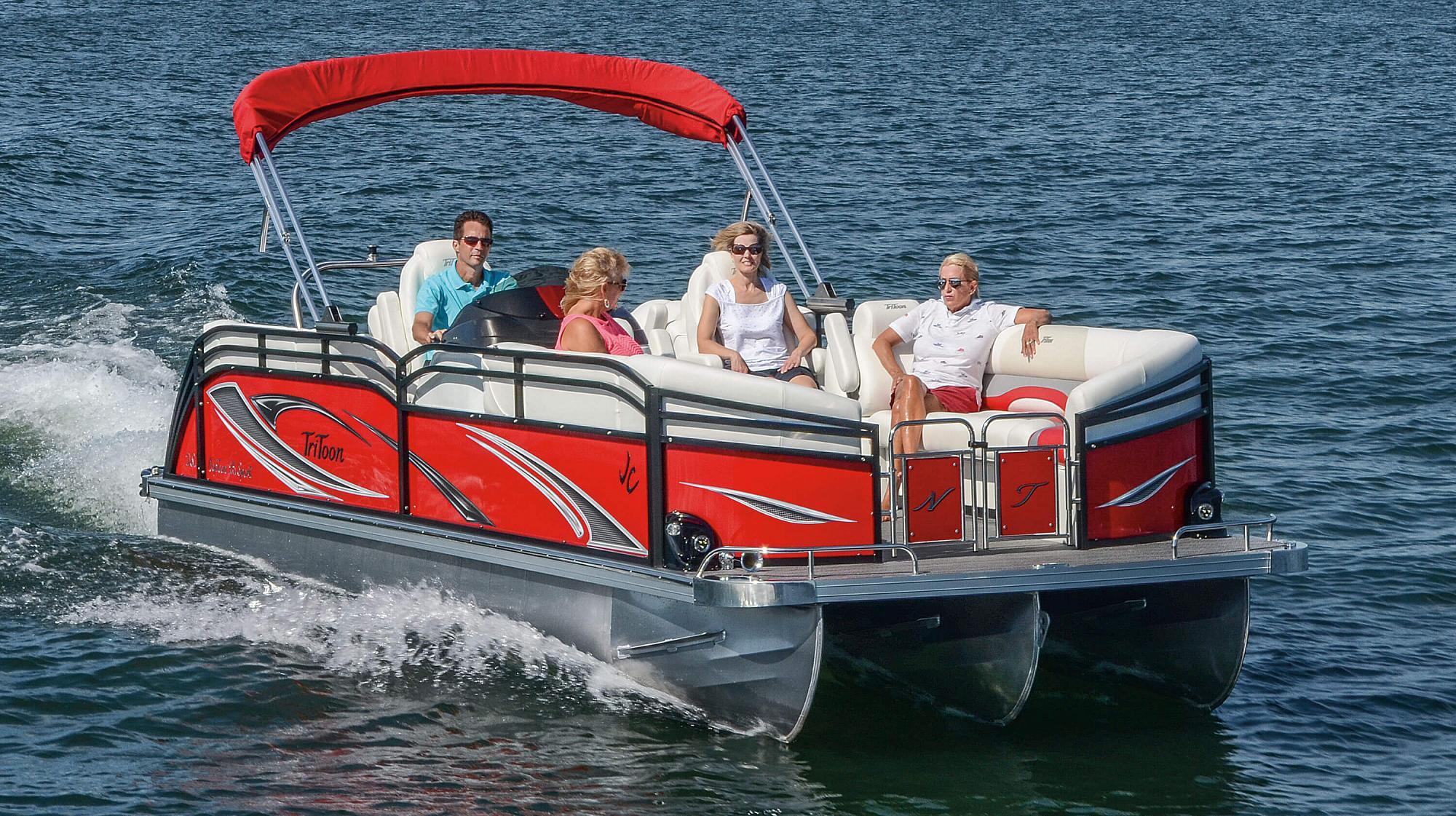 NepToon Pontoon Boats | JC TriToon Marine