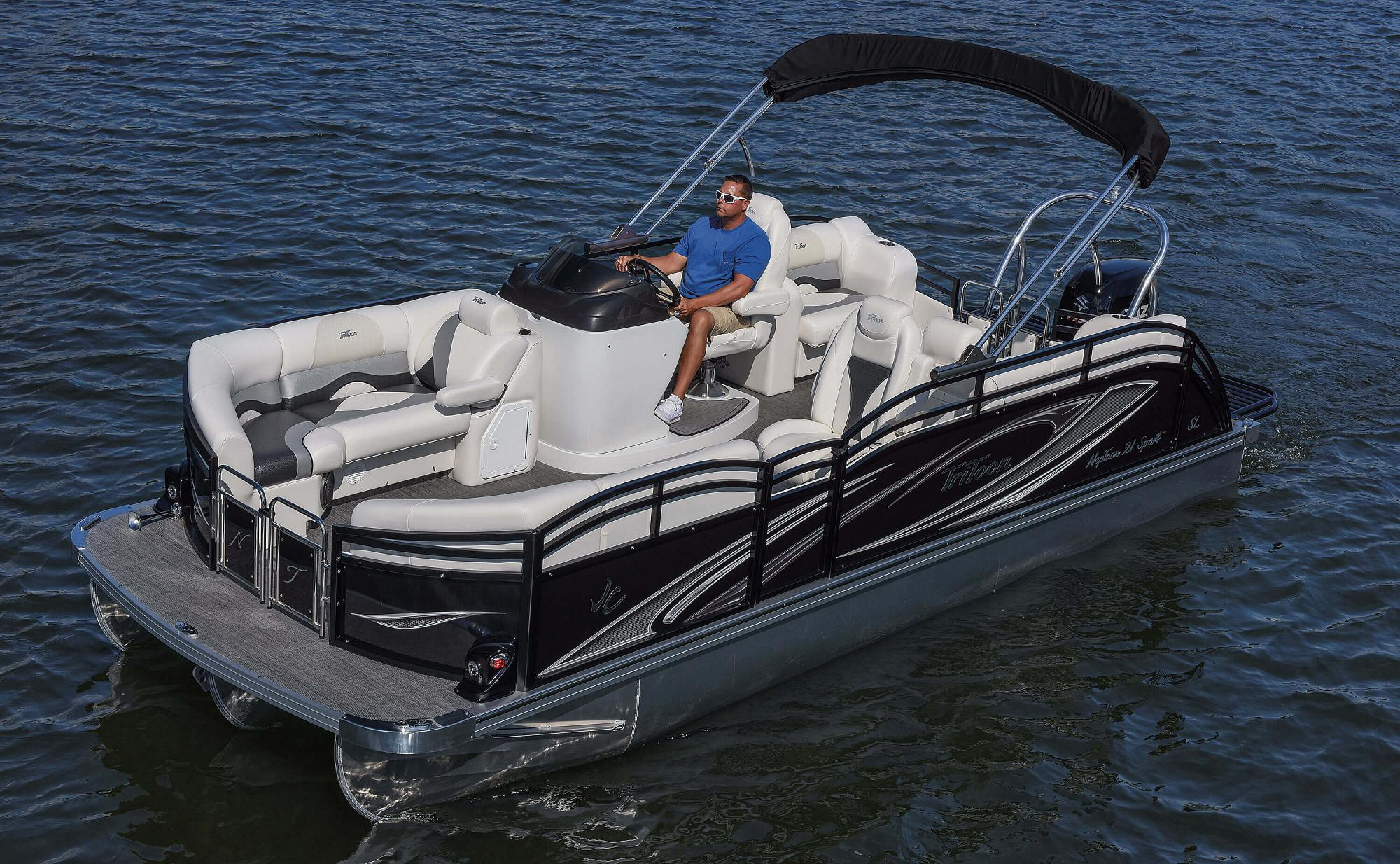 Neptoon Pontoon Boats Jc Tritoon Marine